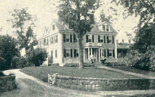 1896 Glimses of Andover - Chapin House