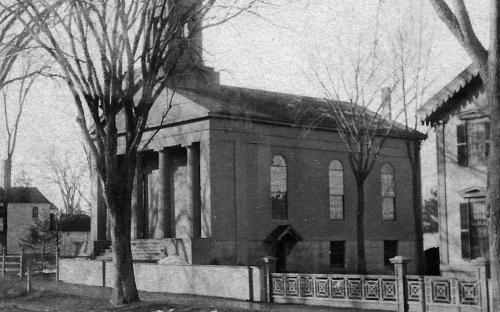 Christ Church detail close-up 1885