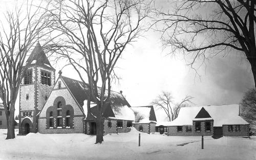 New Christ Church as built 1888
