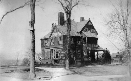1896 Churchill House on original site