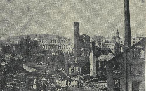 May 11, 1898 - Fire destroy's Craighead & Kintz complex