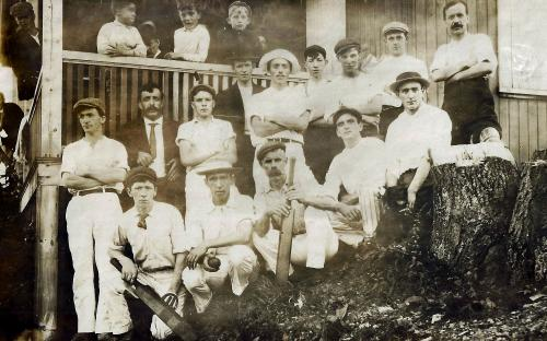 Andover Cricket Club circa 1905