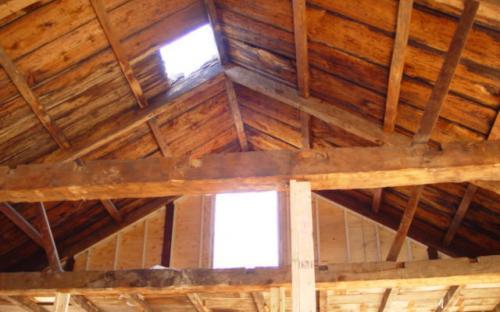 April 2005 roof framing