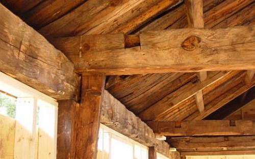 2005 post and beam construction