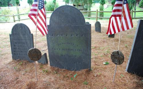 Benjamin Woodridge grave stone