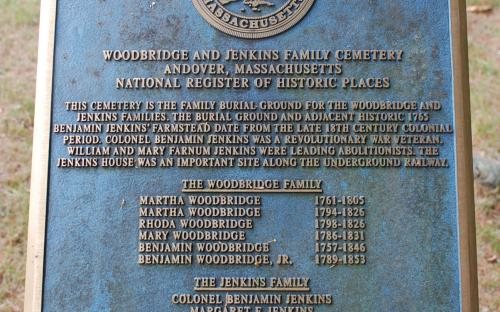 Historic marker placed in 2003