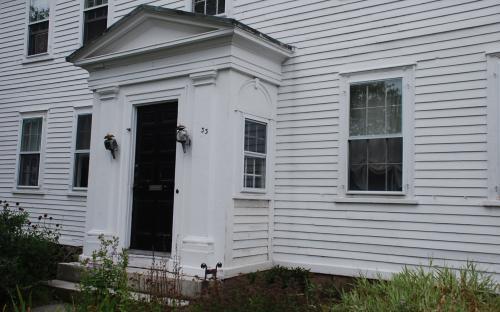 Entrance detail 2008