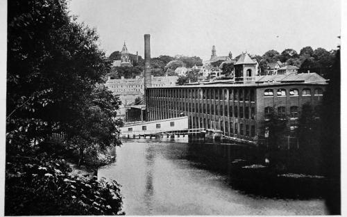 Smith & Dove up river circa 1910
