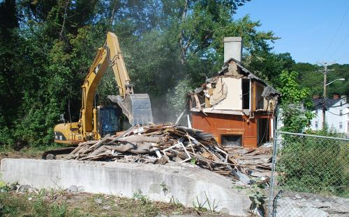 Razed Aug. 2014