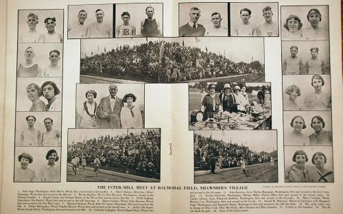 American Woolen Co. 2nd Annual Field Day August 1923 -