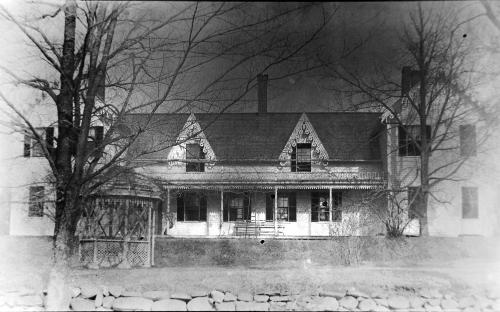 Downing House - glass plate