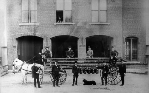 B. F. Hook & Ladder Co. 1885