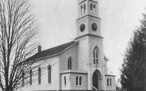Free Church 1900, Railroad St. razed in 1908