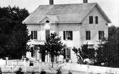 Free Church Manse circa 1875