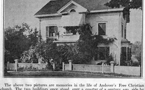 Free Church Manse - Andover Townsman 1937