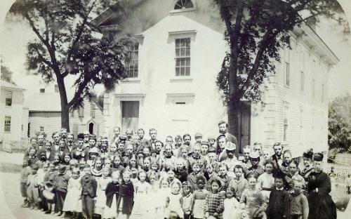 Frye Village Hall 1875
