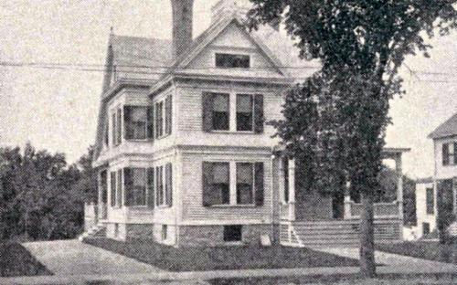 1896 Glimpses of Andover George Foster house