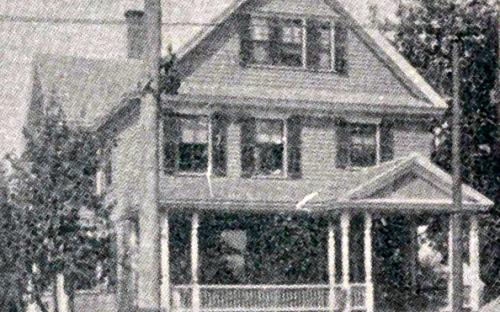 1896 Glimpses of Andover - Gilbert House