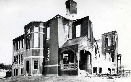 Feb. 23, 1894 fire gutted Grammar School