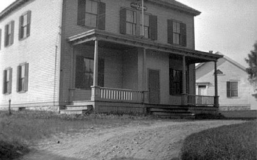 Grange Hall 1916 after move to 210 Shawsheen Rd.