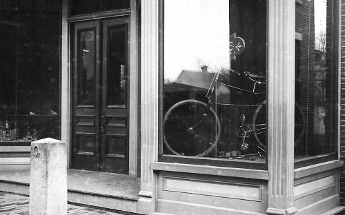 1892 H. F. Chase's Bicycle shop