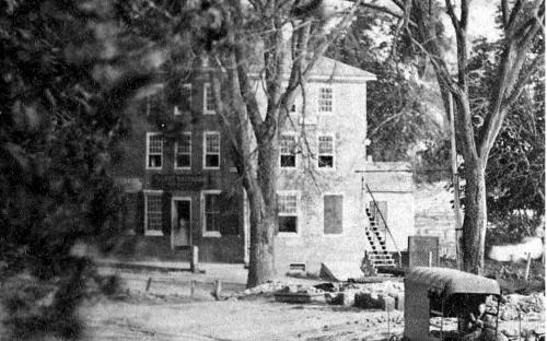 1870 detail of Brick Block