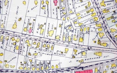 Detail of High St. from 1906 map