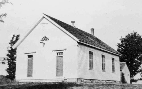 Holt District School 1869 - same design as Bailey Schoolhouse
