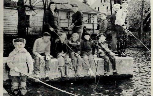Hussey's Pond May 8,1952 - Fishing Derby
