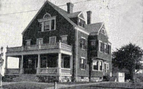 John N. Cole House 1896 Glimpses of Andover