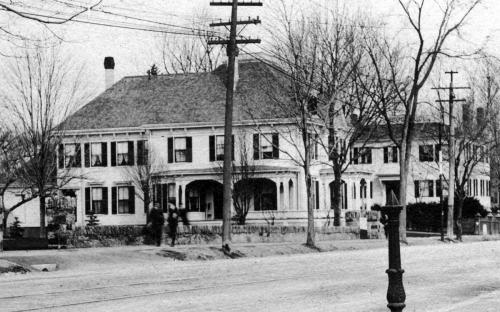 John Dean Home circa 1896 detail