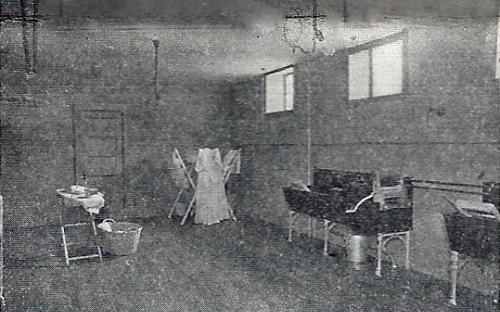 Laundry room 1912