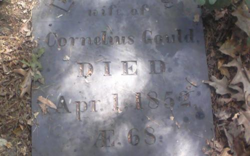 Lydia Gould headstone