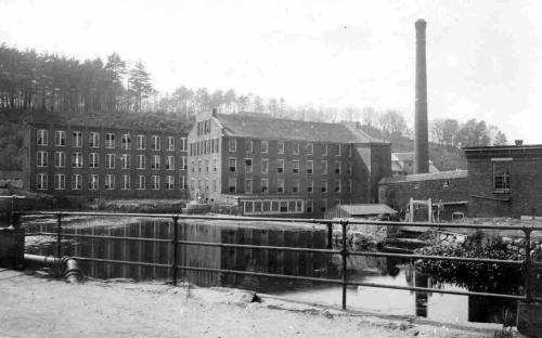 M. T. Stevens Co. circa 1900 Marland Mill