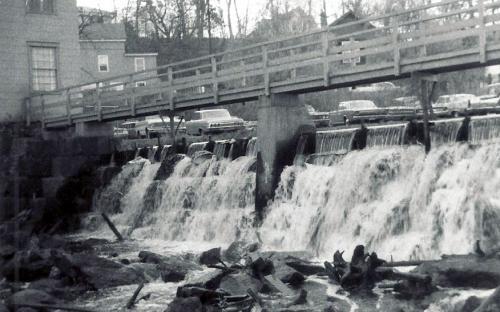 Mill dam 1966
