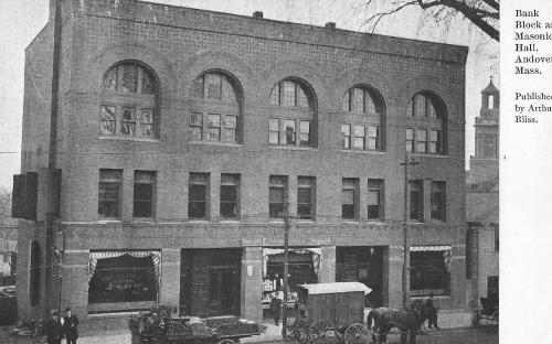 Andover National Bank 1890