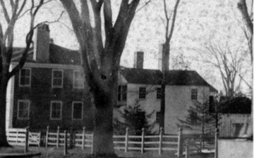 Newman house ell detail northeast side