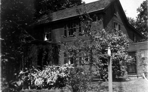 Donald House prior to move