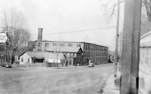 34 - 36 and 38 North Main Street circa 1950