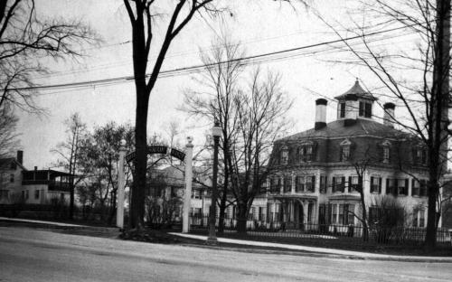 Donald House, Annex and Shawsheen Manor circa 1924