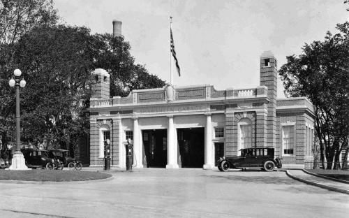 Circa 1925 - Shawsheen Garage