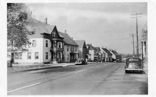 No. Main St. circa 1940