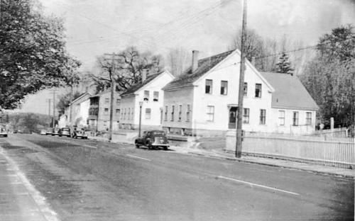 No. Main Street circa 1940s