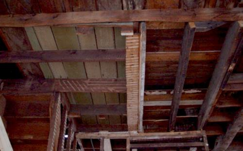 ceiling joists first floor