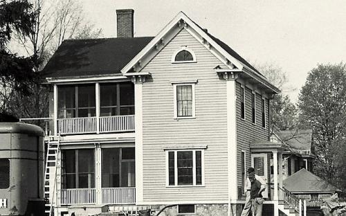 Odlin House 1955 before demolition
