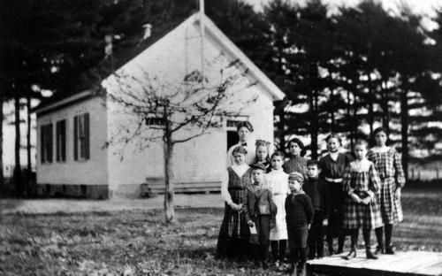 Circa 1920 - Osgood School