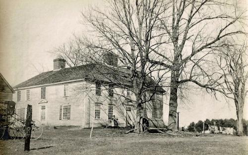 Southwest view circa 1900