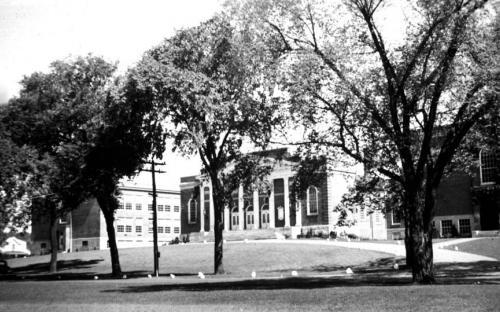 Memorial Auditorium and Jr. High Addition 1936