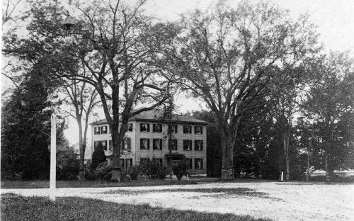 Pease House circa 1900 from Salem St.