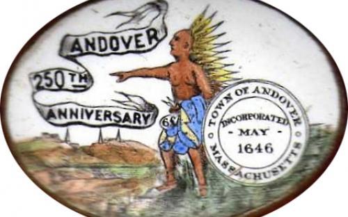1896 Anniversary Pin by John E. Whiting